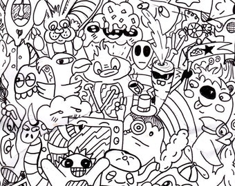 Coloring Page Doodle #4