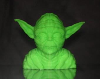 3D printed glow in the dark Yoda