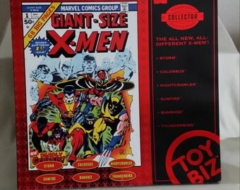 Vintage Boxed Set of X-Men Figures - Marvel Collectors Edition - New Factory Sealed