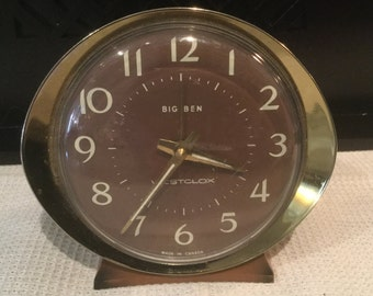 Vintage Westclox Big Ben Alarm Clock - Made in Canada