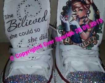 Custom Cinderella Converse