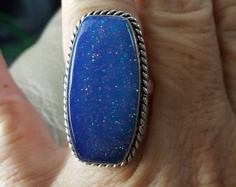 Opal Ring(created) -  size 9!