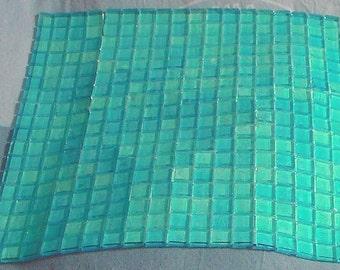1 plate of tesserae mosaic Sicis brand glass