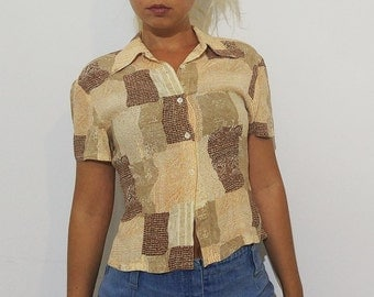 Vintage Crop Top / Shirt