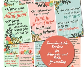 SALE Printable Prayer Cards / Devotions / Prayer Journal /