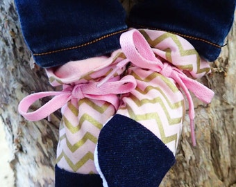 Itty Bitty Baby Booties- The Caroline