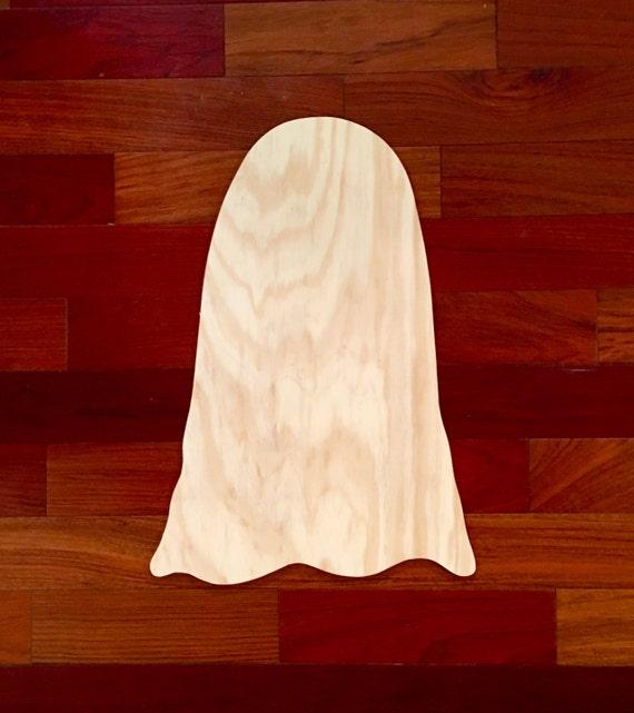 Ghost Wood Blank DIY Blank Halloween Decor Halloween