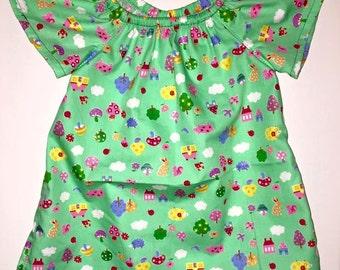 Seaside Flutter Sleeve Dress