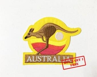 AUSTRALIA Iron on Patch