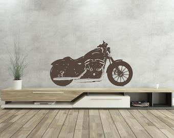 Harley Davidson - Vinyl Wall Decal