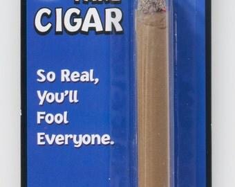 1 FAKE CIGAR Realistic Red Ash Magic Trick Joke Gag Lit Prop Prank Gift Costume Smoker Gangster