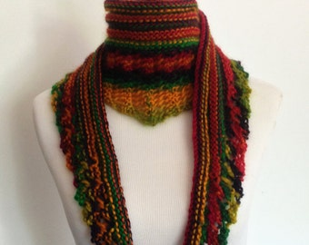 Women's Soft Wool Scarf in Exotic Colors
