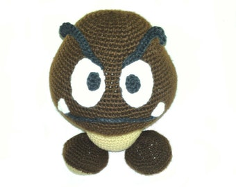 Amigurumi Crochet Goomba - Super Mario
