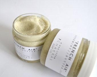 Peppermint Sugar Scrub, French Clay, Body Scrub, All Natural, Vegan