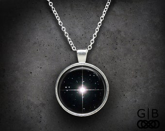 Sirius Star Necklace Sirius Star Pendant Sirius Jewelry - Sirius Star Jewelry - Star Sirius Necklace Star Sirius Pendant Jewelry Necklace