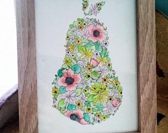 Floral Pear