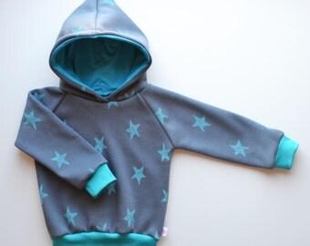 Sweatshirt, hoodie, hoodie, sweatshirt with stars