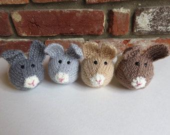 Soft Hand Knitted Dutch Rabbit
