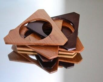 Cherry Tree Wood Bracelets/bracelets-Handmade/Handcrafted cherry wood