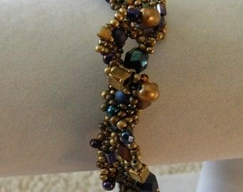 Rippled Beaded Bracelet