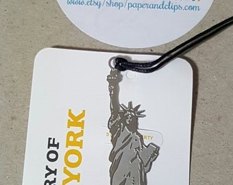 1 Statue of Liberty New York Bookmark