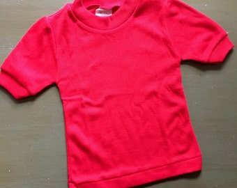 Vintage Kids Red T-shirt - 3T - Excellent shape!