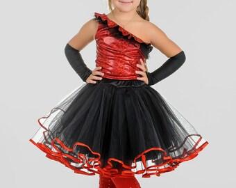 girls devil costume Halloween devil costume kid Halloween Costume horn costume tutu girl costume halloween kid costume toddler devil costume