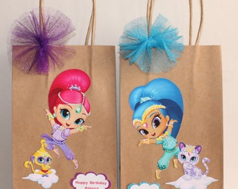 Shimmer And Shine Party Favor Bags