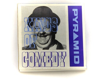 vintage 8 mm kings of comedy Home movie/  charlie chaplin in charlie limbers up