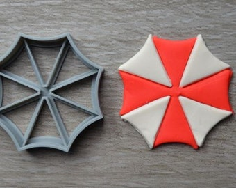 Resident Evil Umbrella Corporation Cookie Cutter Fondant Cutter