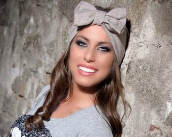 Headband, Boho Headband, Womens Headband, Adult Headband, Headbands for Women, Bow Headband Women, Headwrap, Wide Headband with Bow