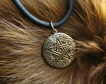Pentagram pendant, celtic, wiccan jewelry, witchcraft, pagan, wicca, druid, witch, magic, pentacle, metaphysical, Pendants of Witchcraft