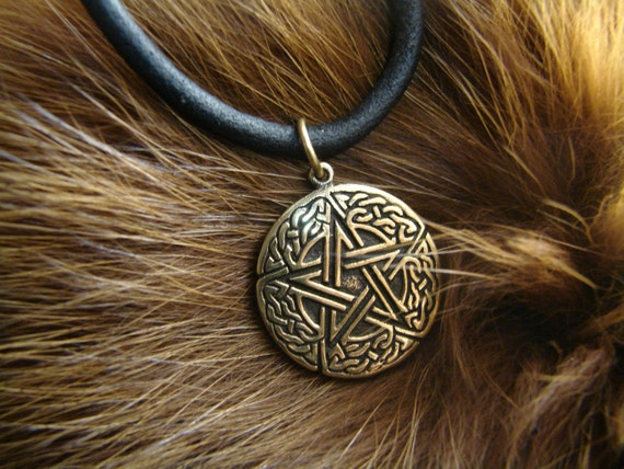 Pentagram pendant celtic wiccan jewelry witchcraft pagan like this item aloadofball Choice Image
