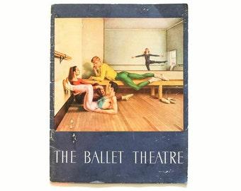 1950s Vintage Program - The American Ballet Theatre - New York
