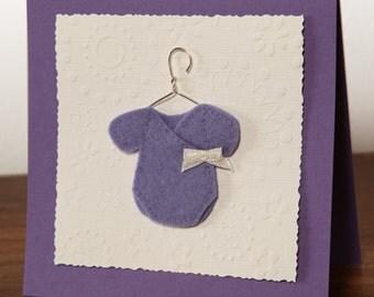 Map mauve / Purple card