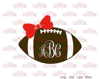 American Football Ball SVG cut files, Super Bowl svg cut files for use with Silhouette, Cricut and other Vinyl Cutters, digital cut file