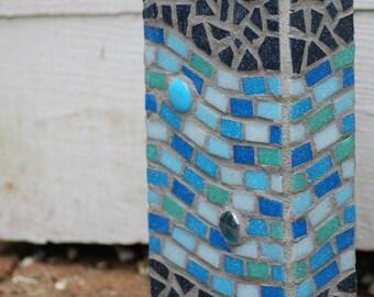 Mosaic ocean vase