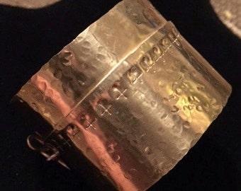 FOLD FORMED Cuff Bracelet
