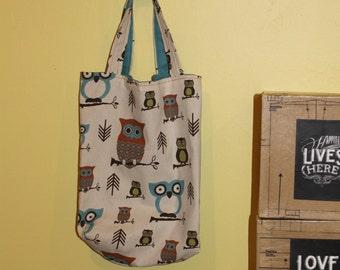 Sturdy Owl Grocery Tote