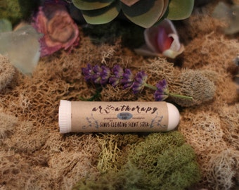 Breathe Easy| Sinus clearing essential oil scent stick