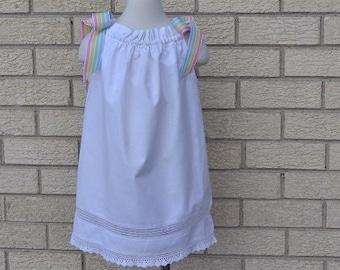 Girls Pillowcase Dress Vintage. Girls Summer outfit, Girls Sundres