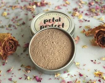 Petal Perfect Finishing Powder - Organic Makeup - Vegan Makeup