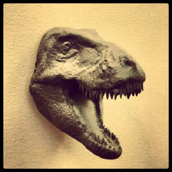 Wall Mount T-Rex Head | 3D Printed Dinosaur Collectible