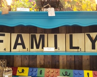 Wooden Letter Tiles, Vinyl Letter Tiles, Cleared Wooden Tiles
