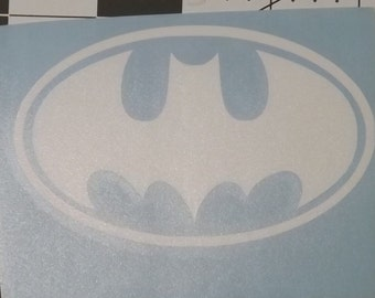 Batman Vinyl Decal for cars and trucks 2in x 4.25in