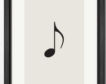 A1 poster - Musical Note
