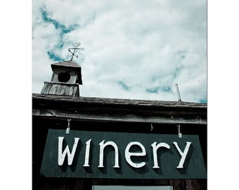 Winery Front (Print)