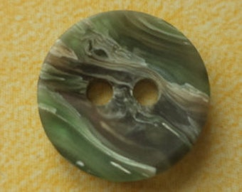10 small buttons 13mm Green (4647) button