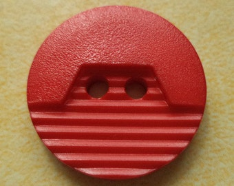 10 buttons red 20mm (1322) button