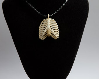 Human thorax pendant necklace. Beautiful pendant for everyone.